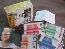 ELTON JOHN Great Box JAPAN-ONLY 4CD BOX w/OBI+POSTCARD+72p Booklet PHCR-3133~36