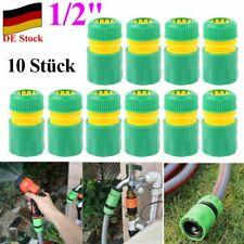 """10 Schnellkupplung Schlauchanschluß Schlauchverbinder Adapter Steckkupplung 1//2/"""""""
