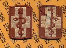 US Army 330th Medical Brigade Desert DCU uniform patch