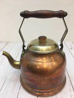 Vintage Centura International La Belle Cuisine Copper/Brass tea Kettle Mexico.