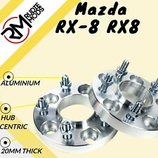 Mazda RX-8 RX8 5x114.3 67.1 20mm Hubcentric wheel spacers 1 pair UK MADE