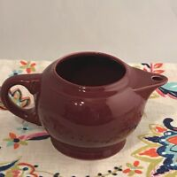 Fiestaware Cinnabar Small 2 Cup Teapot Fiesta Retired Body Only NO LID