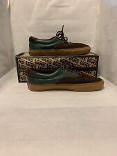 Vans CA (California) Era 59 CA Dark Green/Brown Leather/Suede Size 10 Used