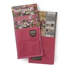 Burgon & Ball Verti-plant Hanging Planting Holder Pink Pack of 2