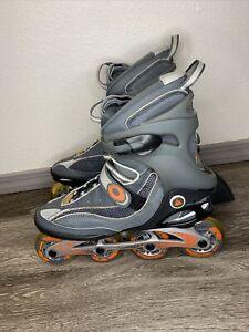 K2 Exo 6.1 Men's Rollerblades Inline Skates Size 10 Gray