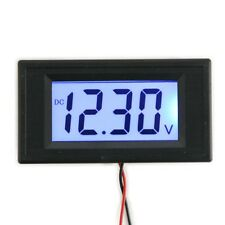 DC 7.5-20V Blue LCD Display 4 Digits Digital Panel Volt Meter VoltMeter Module