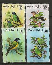 Vanuatu 1981 Wildlife Fauna Birds Vögel Oiseaux compl. set MNH