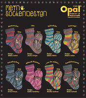 Opal My Sock Design/Mein Sockendesign 4 ply 100g  8 shades 1 ball/1pair of socks