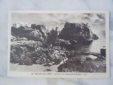 Carte postale le soir à la pointe des Poulains à Belle-île-en-Mer