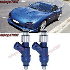Turbo Race 550cc Fuel Injector Fit Mazda RX7 RX8 GX GXL GS GT FC3S 13B 20B Set 2