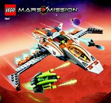 LEGO MX-41 SWITCH FIGHTER 7647 Set Mars Mission alien space minifigs no stickers