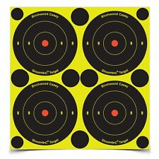 "Birchwood Casey Targets Shoot N C 3"" Bulls Eye 12 Sheet Pack With Pasters 34315"
