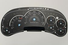 2006 only OE CADILLAC ESCALADE PLATINUM INSTRUMENT CLUSTER GAUGE FACE INLAY PART