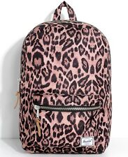 NEW RBCK-40 HERSCHEL SUPPLY CO. SETTLEMENT LEOPARD SCHOOL UNISEX BACKPACK