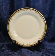 "Vintage Lenox China - Eclipse - Dinner Plate Cream, Black, Gold 10.5"" USED"