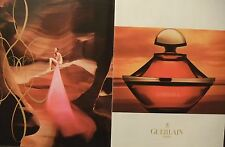 PUBLICITÉ 1994 GUERLAIN PARIS SAMSARA - ADVERTISING