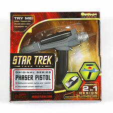 Star Trek - PHASER + Light + Sound - NEU! ovp