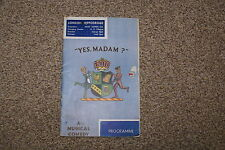 1935 Yes Madam, London Hippodrome - Bobby Howes, Binnie Hale. Cast in photo