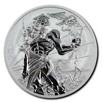 2020 Tuvalu 1 oz Silver - Zeus - Gods of Olympus - Perth Mint Coin - IN STOCK