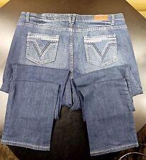 Vigold White Stitch Skinny Jean Tall Jr's Plus Size 23 X 37 Inseam Pocket Design