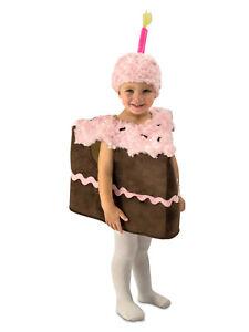 Piece of Cake Costume Halloween Fancy Dress Girls SIZE 4-6 (XS/S)