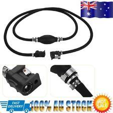 21cm Boat Fuel Pump Line Hand Primer Bulb Gas Outboard Petrol Fuel Line Black AU