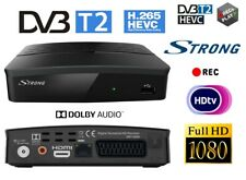 Decoder Digital Terrestrial Receiver Full HD DVB-T2 Registers USB HDMI Scart Lan