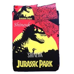 New Jurassic World Reversible Duvet cover Set Primark Ltd Edition Home Decor RED