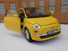 FIAT 500 PERSONALISED NAME PLATES Toy Car MODEL DAD BOY CHRISTMAS GIFT PRESENT