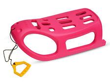 Schlitten Kinderschlitten LITTLE SEAL Pink / Rosa aus Kunststoff Schnee