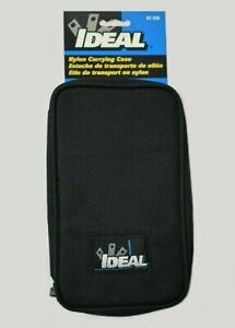 Ideal C-290 PlatinumPro Multimeters & Megger Insulation Tester Nylon Carry Case