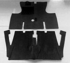 Black Velours Carpet Set for Renault Caravelle Coupe Baujahr 1959-1968 (Floride)