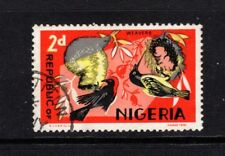 NIGERIA 2d WEAVERS 1965 Fine Used BIRDS N.S.P & M Co Ltd