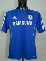 CHELSEA FOOTBALL TRAINING SHIRT ADIDAS 2011/2012 SIZE 44/46 L EXCL