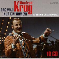 MANFRED KRUG - DAS WAR NUR EIN MOMENT (DIE ORIGINAL AMIGA AUFNAHMEN) 10 CD NEU