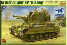 Bronco 1/35  British 25pdr SP 'Bishop'  #35077