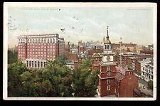 1917 Curtis Pub. Bldg. Independence Square Philadelphia Pennsylvania postcard