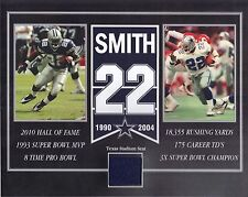 EMMITT SMITH DALLAS COWBOYS OLD TEXAS STADIUM SEAT 8 X 10 COA