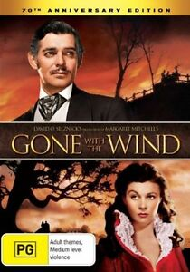 GONE WITH THE WIND starring Clark Gable (2-disc DVD set, 2009)