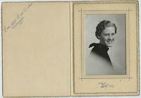 Antique Photo in Folder - Denver, Colorado - 1937 - CLAUDINE - (Graduation?)
