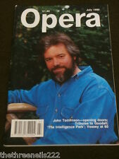 OPERA MAGAZINE - JOHN TOMLINSON - JULY 1990
