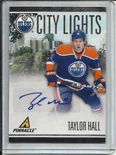 Taylor Hall 10/11 Pinnacle City Lights Autograph #007/100