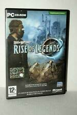 RISE OF LEGENDS RISE OF NATIONS USATO PC CD ROM VERSIONE ITALIANA GD1 49133