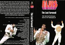 Elvis Presley 1977 Last Farewell Concert DVD