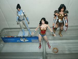 DC Direct Series 1 WONDER WOMAN lot - Diana Prince Donna Troy Wonder Woman