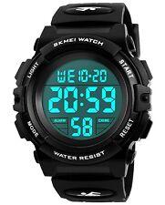 Kinder Digital Uhren FüR Jungen - Wasserdichte Sport Armbanduhr Mit Wecker/Time