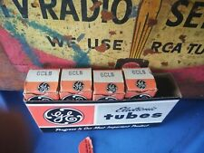 Lot of (4) Nos Nib Ge 6Cl6 Audio Radio Vacuum Tubes Untested