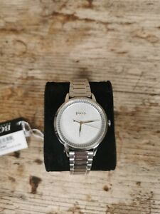 Hugo Boss Women's Analogue Classic Quartz Watch With Stainless Steel Strap...