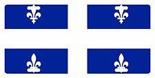 Quebec Canada Flag Custom License Plate Fleur-de-lis Emblem Original Version