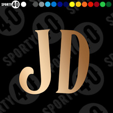JD Jack Daniels Whiskey Sticker Vinyl Decal Old Time No.7 Whiskey 3504-0220